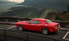 Franja lateral de Dodge Challenger V6 2016