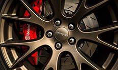 """Dodge Challenger 2016: ruedas livianas Brass Monkey de 20"""""""