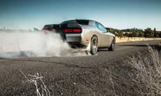 Dodge Challenger SRT 392 2016: alerón trasero