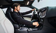 Interior del Dodge Charger SXT 2016
