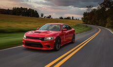 Vista lateral del Dodge Charger SRT Hellcat 2016