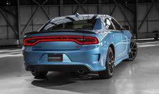 Sistema de asistencia para estacionar en reversa del Dodge Charger 2016