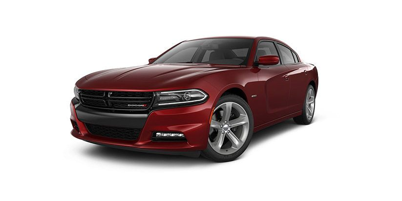 Vista frontal del Dodge Charger R/T 2016