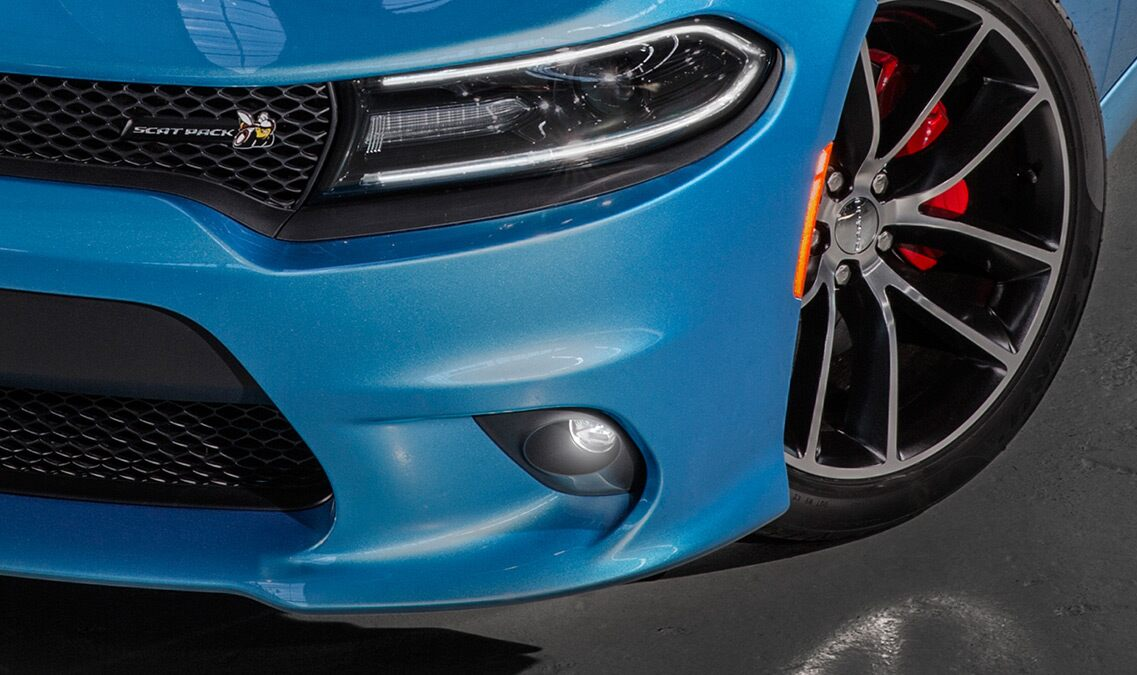 Faros antiniebla del Dodge Charger R/T Scat Pack 2016