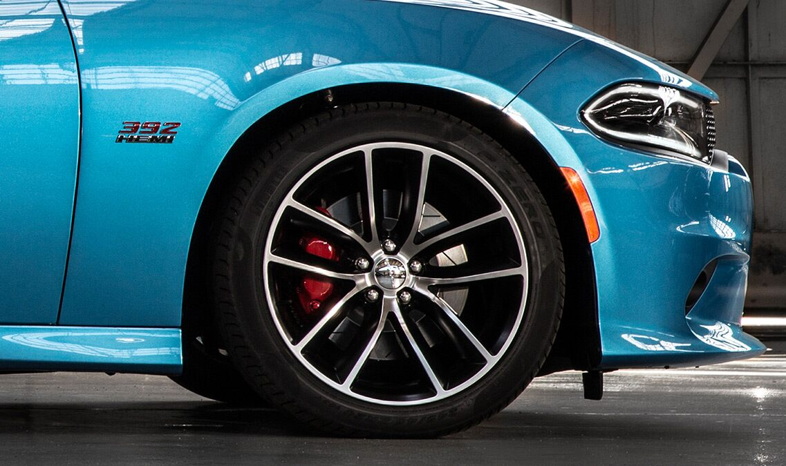 Frenos Brembo del Dodge Charger R/T Scat Pack 2016