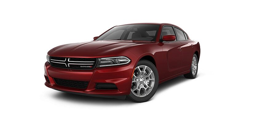 Vista frontal del Dodge Charger SE AWD 2016