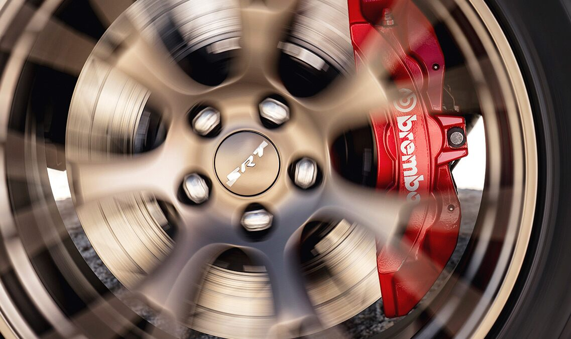Frenos Brembo del Dodge Charger SRT Hellcat 2016
