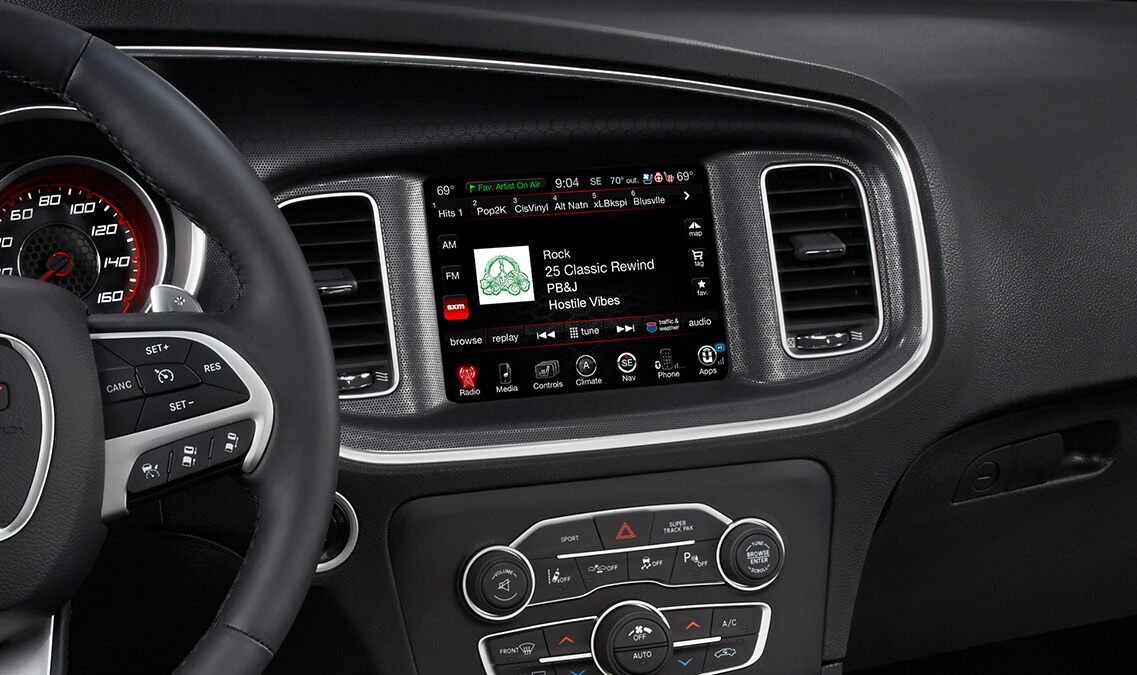 Radio Sirius del Dodge Charger SXT AWD 2016