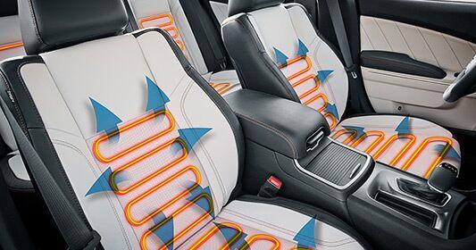 Dodge Charger 2016: asientos con calefacción