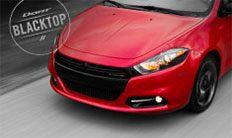 Dodge Dart SXT Blacktop 2016: parrilla reticular