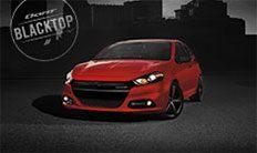 Dodge Dart SXT Blacktop 2016: ruedas negras