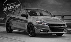 "Dodge Dart SXT Blacktop 2016: ruedas de 18"""