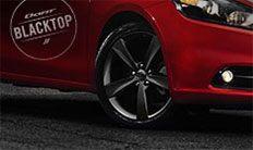 Dodge Dart Blacktop 2016: ruedas negras