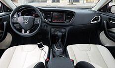 Dodge Dart Limited 2016: asientos con cuero Nappa