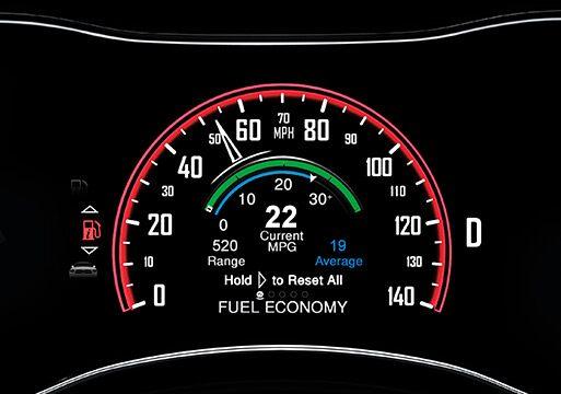 Dodge Durango 2016 con velocímetro